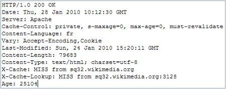 Réponse HTTP dune page de wikipedia.org