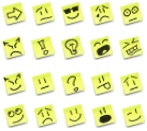 Pack des smileys Post-it