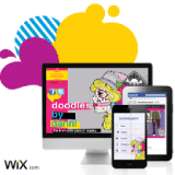 Site web Wix (site mobile et page Facebook)