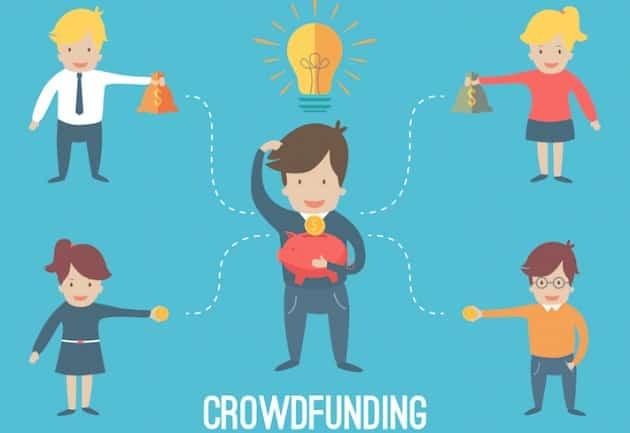 Représentation du crowdfunding, financement participatif