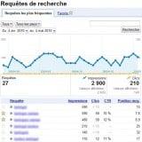 Aperçu Google Outils pour Webmasters